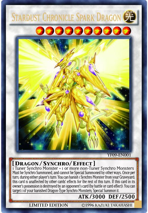 Stardust Chronicle Spark Dragon - YF09-EN001 - Ultra Rare - Limited Edition