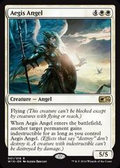 Aegis Angel (Welcome Deck 2016) on Channel Fireball