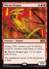Shivan Dragon - Welcome Deck 2016 Promo