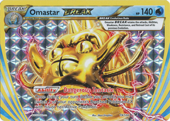 Omastar Break - 19/124 - Rare BREAK