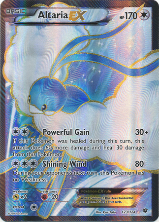 Altaria-EX - 123/124 - Full Art Ultra Rare