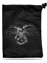 UP DICE BAG - BLACK DRAGON