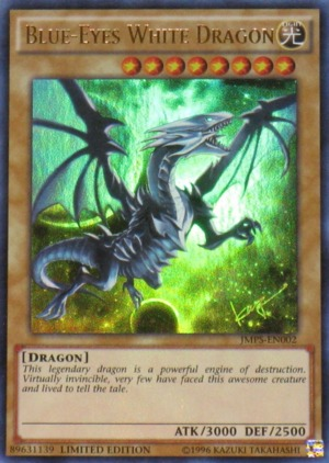 Blue-Eyes White Dragon - JMPS-EN002 - Ultra Rare - Limited Edition