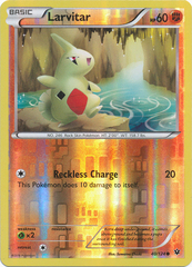 Larvitar - 40/124 - Common - Reverse Holo