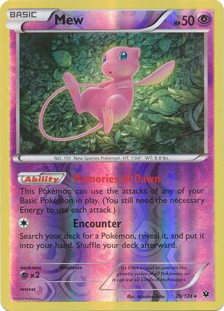 Mandibuzz REV HOLO 58//124 XY FATES COLLIDE Rare Pokemon Card