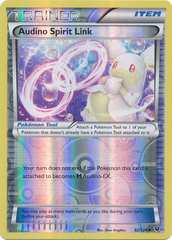 Audino Spirit Link - 92/124 - Uncommon - Reverse Holo on Channel Fireball