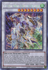 Crystal Wing Synchro Dragon - SHVI-EN049 - Secret Rare - 1st Edition