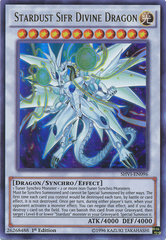 Stardust Sifr Divine Dragon - SHVI-EN096 - Ultra Rare - 1st Edition on Channel Fireball
