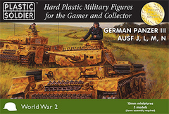 German Panzer III Ausf J, L, M, N (5 vehicles)