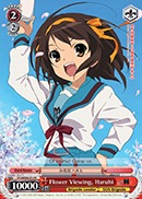 Flower Viewing, Haruhi - SY/WE09-E14 - R
