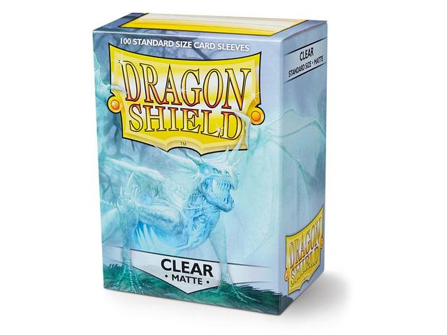 Dragon Shield Standard Sleeves Clear Matte 100ct