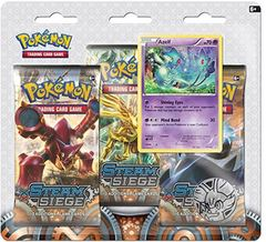 XY - Steam Siege - 3-Pack Pin Blister - Azelf