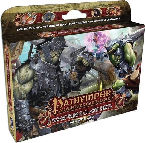 Pathfinder Adventure Card Game - Warpriest Class Deck