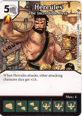 Hercules - The Incredible Herc (Die & Card Combo)