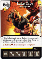 Luke Cage - Bodyguard (Card Only)