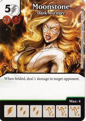 Moonstone - Dark Avenger (Die & Card Combo)
