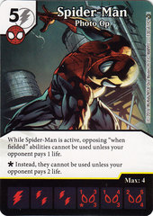 Spider-Man - Photo Op (Die & Card Combo)