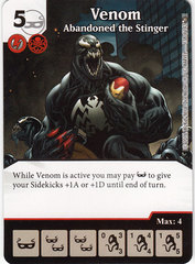 Venom - Abandoned the Stinger (Die & Card Combo)