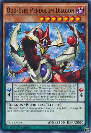 Odd-Eyes Pendulum Dragon - YS16-EN008 - Common - 1st Edition