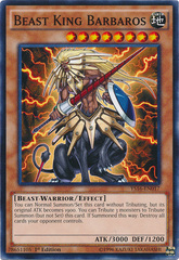 Beast King Barbaros - YS16-EN017 - Common - 1st Edition on Channel Fireball