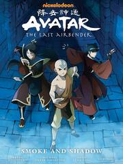 Avatar: The Last Airbender Hardcover Smoke And Shadow Library Edition