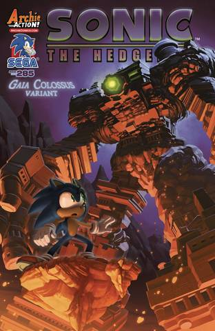Sonic The Hedgehog #285 Cvr B Var Stanley