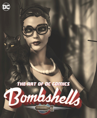 Art Of Dc Comics Bombshells Hc