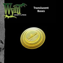 Malifaux: Accessories - Gold Translucent Bases 40mm (5)