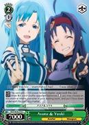 Asuna & Yuuki - SAO/SE26-E18 - C