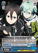 In the Face of Death, Kirito & Sinon - SAO/SE26-E33 - C