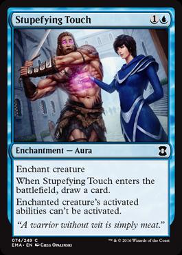 Stupefying Touch