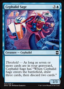 Cephalid Sage - Foil