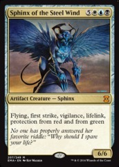 Sphinx of the Steel Wind - Foil