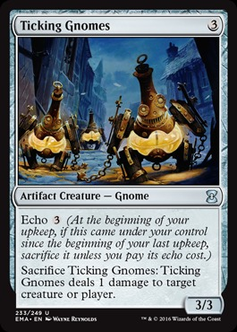 Ticking Gnomes - Foil