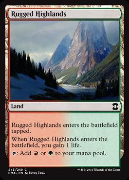 Rugged Highlands - Foil