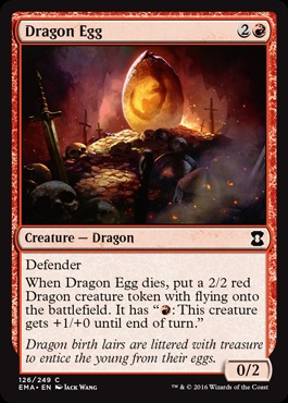 Dragon Egg - Foil