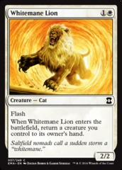Whitemane Lion