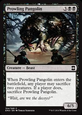 Prowling Pangolin - Foil