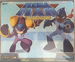 Mega Man The Board Game - TIME MAN & OIL MAN EXPANSION