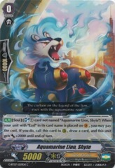 Aquamarine Lion, Shyte - G-BT07/059EN - C on Channel Fireball