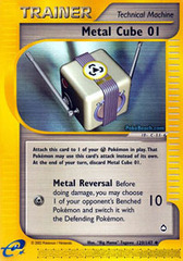 Metal Cube 01 - 129/147 - Uncommon on Channel Fireball