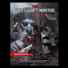 D&D 5th Edition Volo's Guide to Monsters