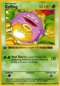 Koffing - 51/102 - Common - 1st Edition