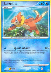 Buizel - 1/12 - Common on Channel Fireball