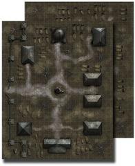GameMastery Flip-Mat - Necropolis