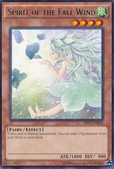 Spirit of the Fall Wind - SHVI-EN039 - Rare - Unlimited Edition