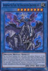 Amorphactor Pain, the Imagination Dracoverlord - SHVI-EN044 - Super Rare - Unlimited Edition on Channel Fireball