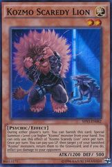 Kozmo Scaredy Lion - SHVI-EN082 - Super Rare - Unlimited Edition