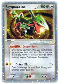 Rayquaza-EX - 102/107 - Rare Holo EX