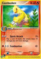 Combusken - 25/97 - Uncommon on Channel Fireball